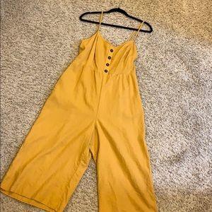 Mustard jumper mid length